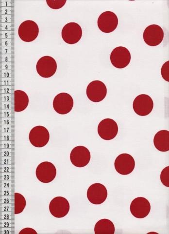 Bavlněná látka na patchwork 9008 - 10 cm