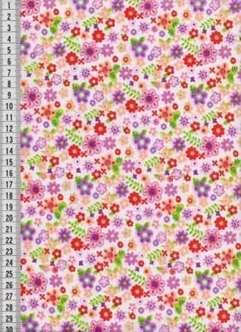 Bavlněná látka na patchwork 9016 - 10 cm