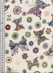 Bavlněná látka na patchwork 9045 - 10 cm