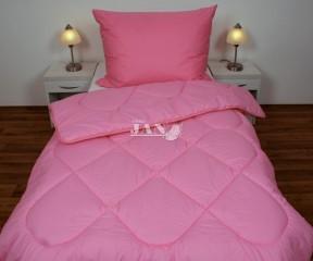 Přikrývka (deka) umělé duté vlákno jednovrstvá růžová - 1200 g