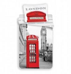 Povlečení - Londýn telefonní budka