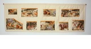 Kapsář za postel - Zvířata Safari