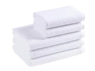 Ručník hotelový 50x100 cm bez bordury - bílý