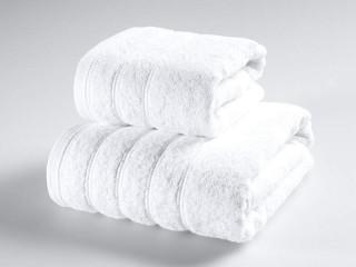 """Froté osuška hotelová """"Solid"""" - bílá 70x130 cm"""