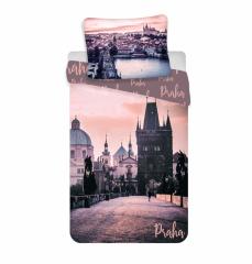 Bavlněné povlečení - romantická Praha