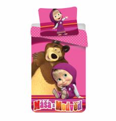 Povlečení bavlna - Máša a medvěd
