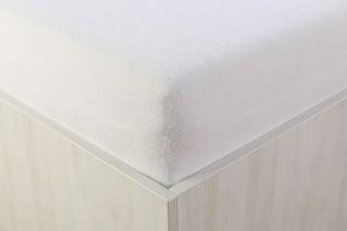 Prostěradlo froté bílé 90, 140, 160, 180 x 200 cm