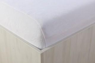Sametové prostěradlo bílé 90, 140, 160, 180 x 200 cm