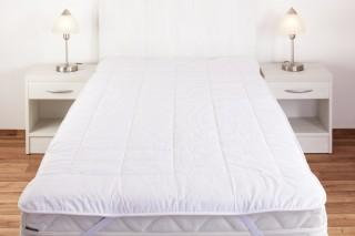 Matracový chránič z ovčí vlny 90 x 200 cm - bílý