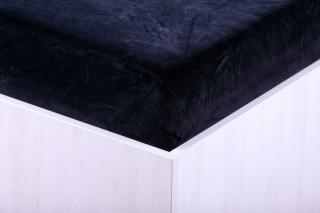 Sametové prostěradlo černé 90, 140, 160, 180 x 200 cm