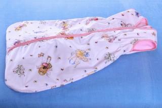 Dětský pytlík na spaní letní 80 - 150 cm/Bílé víly