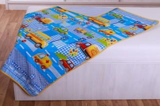 Dětská dečka - Kids car 90x135 cm