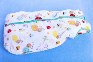Dětský pytlík na spaní z fleecu 80 - 150 cm šneci