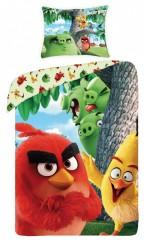Bavlněné povlečení - Angry Birds / Na stromě