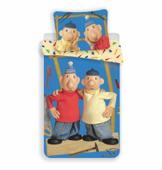 Dětské bavlněné povlečení - Pat a Mat