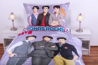 Bavlněné povlečení Matějovský - Jonas Brothers