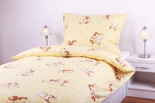 Povlečení bavlna - pejskové žlutí