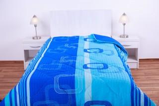 Prošívaná přikrývka (deka) umělé duté vlákno 135x200cm vzor jednovrstvá
