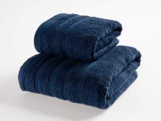 Froté ručník - tmavě modrý 50x90 cm