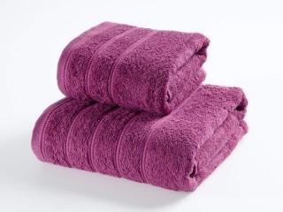 Froté ručník - purpurový 50x90 cm