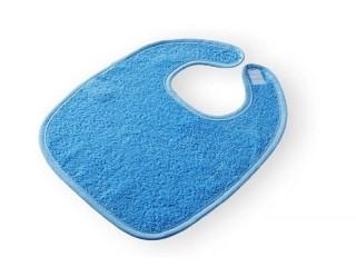 Dětský froté bryndák - modrý