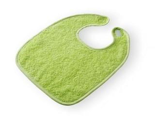Dětský froté bryndák froté - zelený