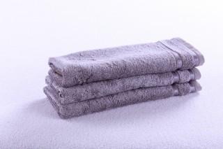 Ručník dětský 50x30cm - Bambus šedý