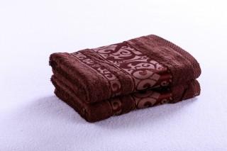 Bambusový ručník 50x90cm, gramáž 420g/m2 - Čokoládová