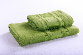Bambusový ručník 50x90cm, gramáž 420g/m2 - Limetka