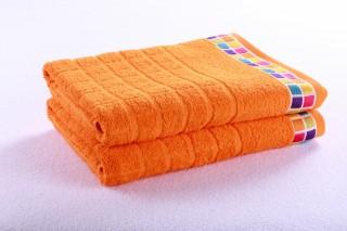 Osuška froté - Oranžová